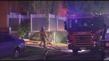 Police investigators have been told the blaze started at the Tulloch Grove property just after 1.40am.