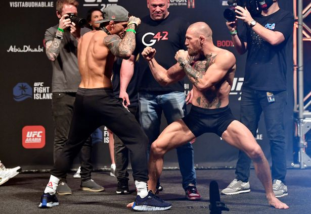 Conor McGregor takes on Dustin Poirier tonight