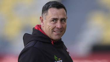 Shane Flanagan spent last year as an assistant with St George Illawarra.