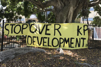 Brisbane's oldest suburb, Kangaroo Point, is facing the pressures of over-development its residents say.