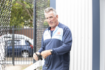 Under-siege Waratahs coach Rob Penney.
