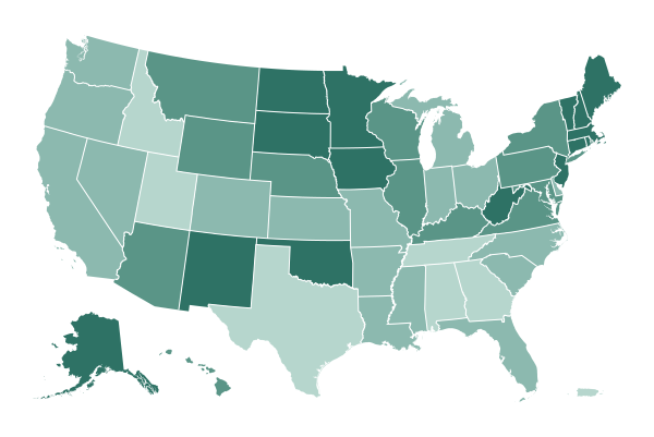 Where states are reporting vaccines given